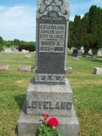 LOVELAND, MARY E. - Trumbull County, Ohio | MARY E. LOVELAND - Ohio Gravestone Photos