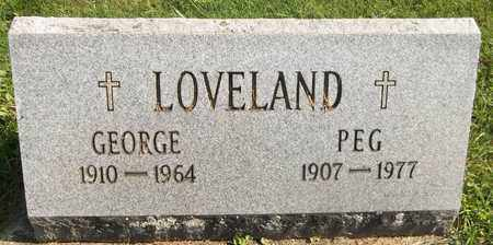LOVELAND, GEORGE - Trumbull County, Ohio | GEORGE LOVELAND - Ohio Gravestone Photos