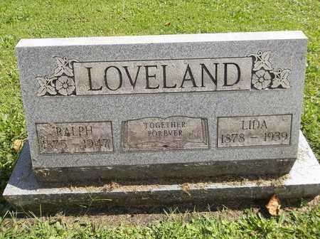 LOVELAND, LIDA - Trumbull County, Ohio | LIDA LOVELAND - Ohio Gravestone Photos