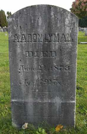 LYMAN, AARON - Trumbull County, Ohio | AARON LYMAN - Ohio Gravestone Photos