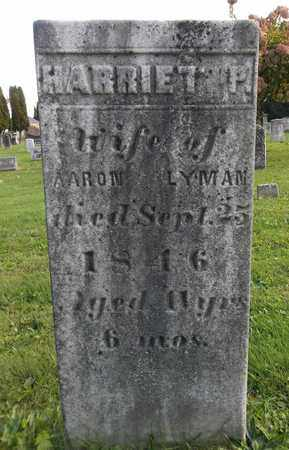 LYMAN, HARRIET P. - Trumbull County, Ohio | HARRIET P. LYMAN - Ohio Gravestone Photos