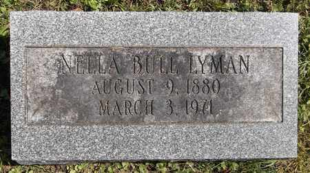 LYMAN, NELLA - Trumbull County, Ohio | NELLA LYMAN - Ohio Gravestone Photos
