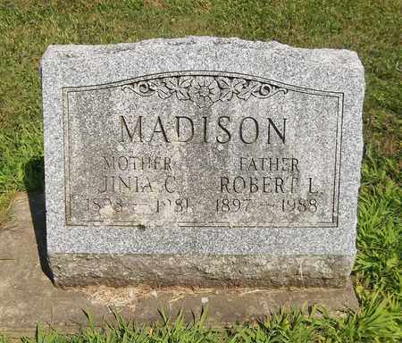 MADISON, JINIA C. - Trumbull County, Ohio | JINIA C. MADISON - Ohio Gravestone Photos