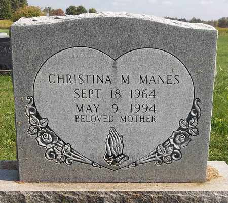 MANES, CHRISTINA M. - Trumbull County, Ohio | CHRISTINA M. MANES - Ohio Gravestone Photos