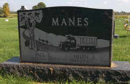 MANES, PAUL C. - Trumbull County, Ohio | PAUL C. MANES - Ohio Gravestone Photos