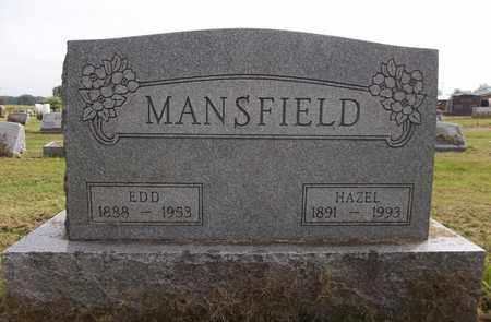 MANSFIELD, EDD - Trumbull County, Ohio | EDD MANSFIELD - Ohio Gravestone Photos