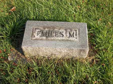 MANSFIELD, EMILES M. - Trumbull County, Ohio | EMILES M. MANSFIELD - Ohio Gravestone Photos