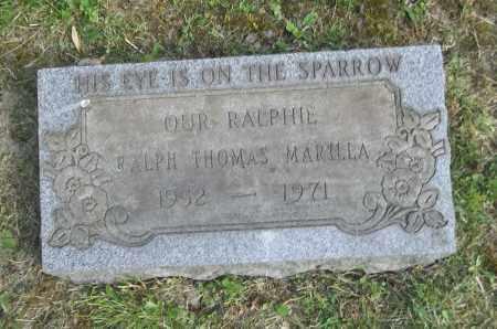 MARILLA, RALPH - Trumbull County, Ohio | RALPH MARILLA - Ohio Gravestone Photos