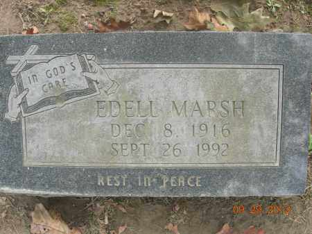 MARSH, EDELL - Trumbull County, Ohio | EDELL MARSH - Ohio Gravestone Photos