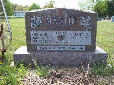 MARTIN, RICHARD U. - Trumbull County, Ohio | RICHARD U. MARTIN - Ohio Gravestone Photos