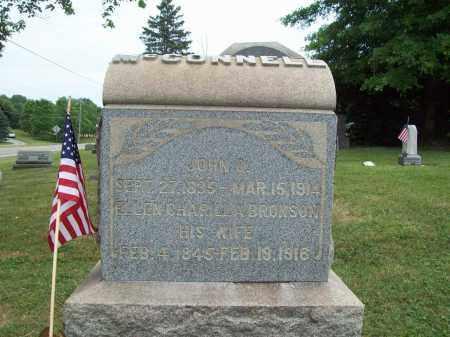 BRUNSON MCCONNELL, ELLEN CHARILLA - Trumbull County, Ohio | ELLEN CHARILLA BRUNSON MCCONNELL - Ohio Gravestone Photos