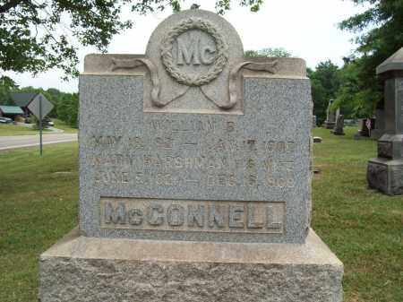 HARSHMAN MCCONNELL, MARY - Trumbull County, Ohio | MARY HARSHMAN MCCONNELL - Ohio Gravestone Photos