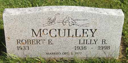 MCCULLEY, LILLY B. - Trumbull County, Ohio | LILLY B. MCCULLEY - Ohio Gravestone Photos