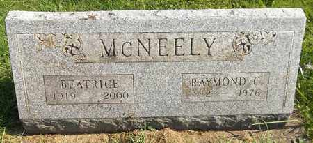 MCNEELY, BEATRICE - Trumbull County, Ohio | BEATRICE MCNEELY - Ohio Gravestone Photos