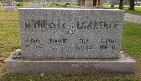LAWRENCE, ELLA - Trumbull County, Ohio | ELLA LAWRENCE - Ohio Gravestone Photos