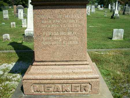 MEAKER, SAMUEL M. - Trumbull County, Ohio | SAMUEL M. MEAKER - Ohio Gravestone Photos