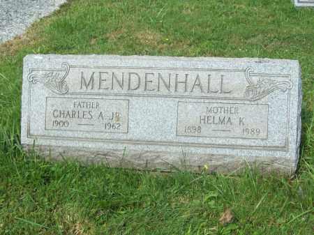 MENDENHALL, HELMA K. - Trumbull County, Ohio | HELMA K. MENDENHALL - Ohio Gravestone Photos