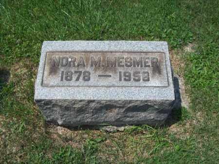 MESMER, NORA MAY - Trumbull County, Ohio | NORA MAY MESMER - Ohio Gravestone Photos