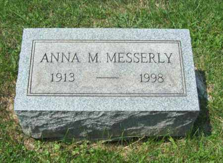 MESSERLY, ANNA M. - Trumbull County, Ohio | ANNA M. MESSERLY - Ohio Gravestone Photos