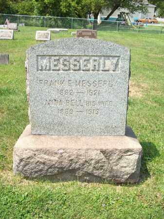 WRIGHT MESSERLY, ANNA BELL - Trumbull County, Ohio | ANNA BELL WRIGHT MESSERLY - Ohio Gravestone Photos