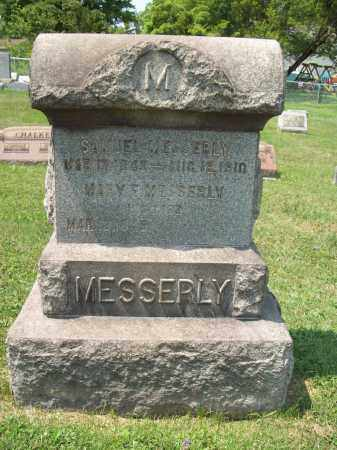 HARDMAN MESSERLY, MARY E. - Trumbull County, Ohio | MARY E. HARDMAN MESSERLY - Ohio Gravestone Photos