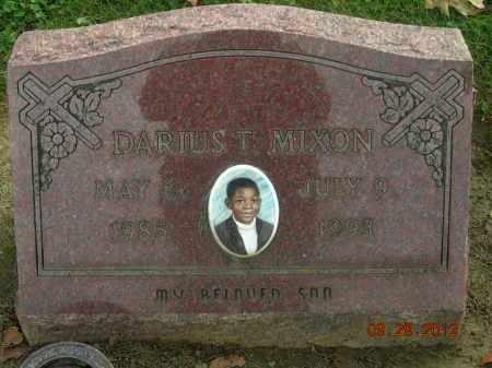 MIXON, DARIUS T. - Trumbull County, Ohio | DARIUS T. MIXON - Ohio Gravestone Photos