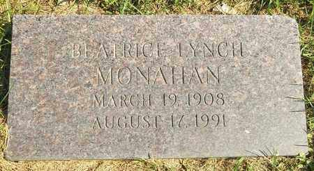 LYNCH MONAHAN, BEATRICE - Trumbull County, Ohio | BEATRICE LYNCH MONAHAN - Ohio Gravestone Photos