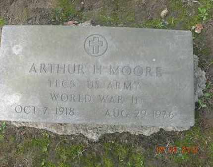 MOORE, ARTHUR H. - Trumbull County, Ohio | ARTHUR H. MOORE - Ohio Gravestone Photos