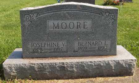 MOORE, BERNARD L. - Trumbull County, Ohio | BERNARD L. MOORE - Ohio Gravestone Photos