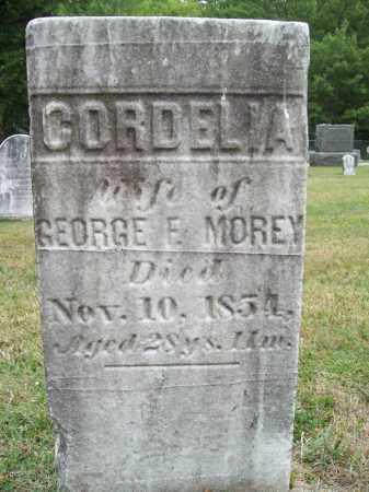 MOREY, CORDELIA - Trumbull County, Ohio | CORDELIA MOREY - Ohio Gravestone Photos