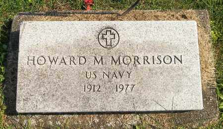 MORRISON, HOWARD M. - Trumbull County, Ohio | HOWARD M. MORRISON - Ohio Gravestone Photos