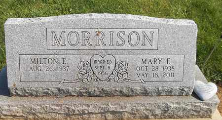 MORRISON, MARY F. - Trumbull County, Ohio | MARY F. MORRISON - Ohio Gravestone Photos