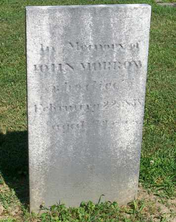 MORROW, JOHN - Trumbull County, Ohio | JOHN MORROW - Ohio Gravestone Photos