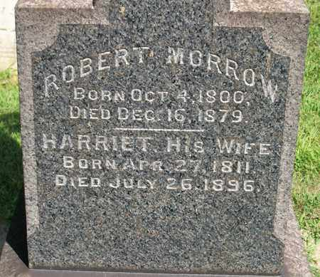 HILL MORROW, HARRIET - Trumbull County, Ohio | HARRIET HILL MORROW - Ohio Gravestone Photos