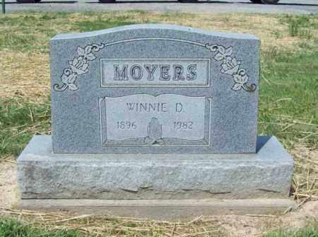 MOYERS, WINNIE D. - Trumbull County, Ohio | WINNIE D. MOYERS - Ohio Gravestone Photos