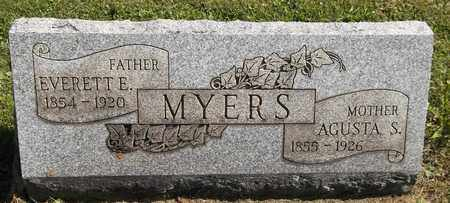 MYERS, EVERETT E. - Trumbull County, Ohio | EVERETT E. MYERS - Ohio Gravestone Photos