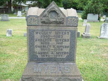 MYERS, AVALINE - Trumbull County, Ohio | AVALINE MYERS - Ohio Gravestone Photos