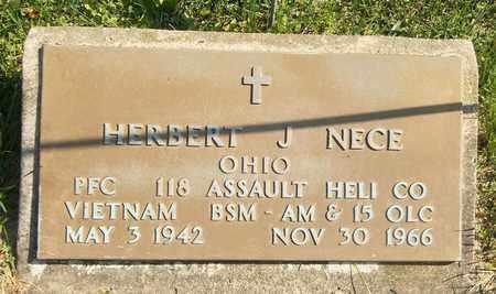 NECE, HERBERT J. - Trumbull County, Ohio | HERBERT J. NECE - Ohio Gravestone Photos