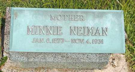 SCHLANDER NEIMAN, MINNIE - Trumbull County, Ohio | MINNIE SCHLANDER NEIMAN - Ohio Gravestone Photos