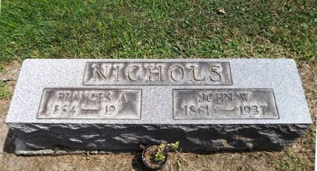 NICHOLS, FRANCES A. - Trumbull County, Ohio | FRANCES A. NICHOLS - Ohio Gravestone Photos