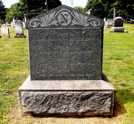 NICHOLS, JOHN B. - Trumbull County, Ohio | JOHN B. NICHOLS - Ohio Gravestone Photos