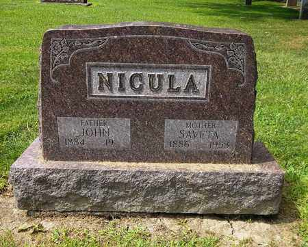 NICULA, SAVETA - Trumbull County, Ohio | SAVETA NICULA - Ohio Gravestone Photos