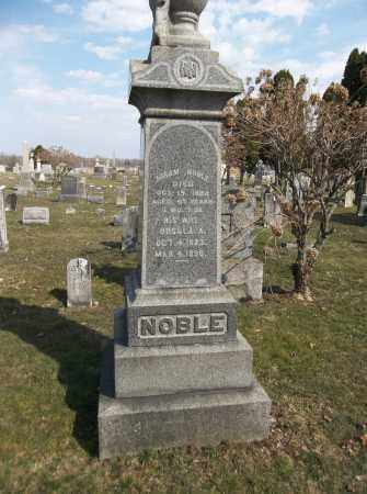 NOBLE, HIRAM - Trumbull County, Ohio | HIRAM NOBLE - Ohio Gravestone Photos