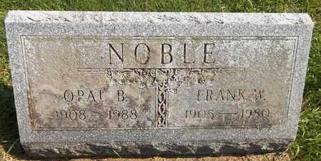 NOBLE, OPAL B. - Trumbull County, Ohio | OPAL B. NOBLE - Ohio Gravestone Photos