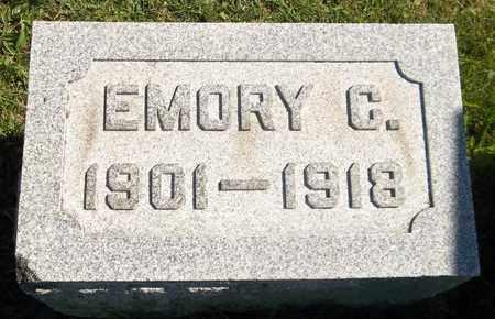 NORRIS, EMORY C. - Trumbull County, Ohio | EMORY C. NORRIS - Ohio Gravestone Photos