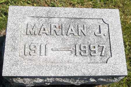 NORRIS, MARIAN J. - Trumbull County, Ohio | MARIAN J. NORRIS - Ohio Gravestone Photos