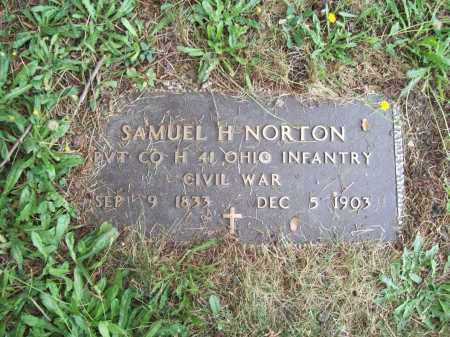 NORTON, SAMUEL HALE - Trumbull County, Ohio | SAMUEL HALE NORTON - Ohio Gravestone Photos