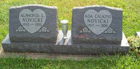 NOVICKI, ADA - Trumbull County, Ohio | ADA NOVICKI - Ohio Gravestone Photos