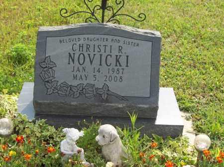 NOVICKI, CHRISTI R. - Trumbull County, Ohio | CHRISTI R. NOVICKI - Ohio Gravestone Photos
