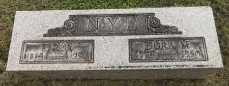 NYE, E. ROY - Trumbull County, Ohio | E. ROY NYE - Ohio Gravestone Photos